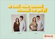 Breast enlargement without surgery Αυξητική Στήθους χωρίς χειρουργείο