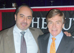 Dr. Aston and Dr. Christopoulos - New York - Plastic Surgery Experts Symposium