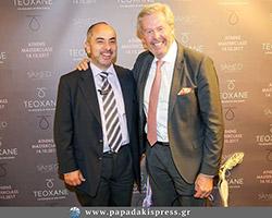 Ο πλαστικός χειρουργός Αθανάσιος Χριστόπουλος με το Σουηδό πλαστικό χειρουργό, Dr. Per Hedén, Επίκουρο Καθηγητή στο Karolinska Institute